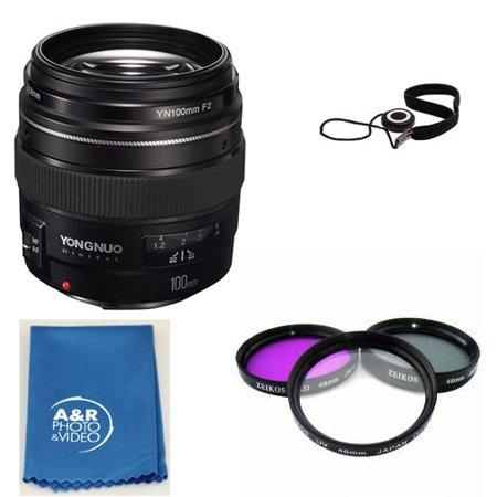 YONGNUO YN100mm 100mm F2 Lens Kit for Canon 80D T6I T6 70D 5D 6D T7I +