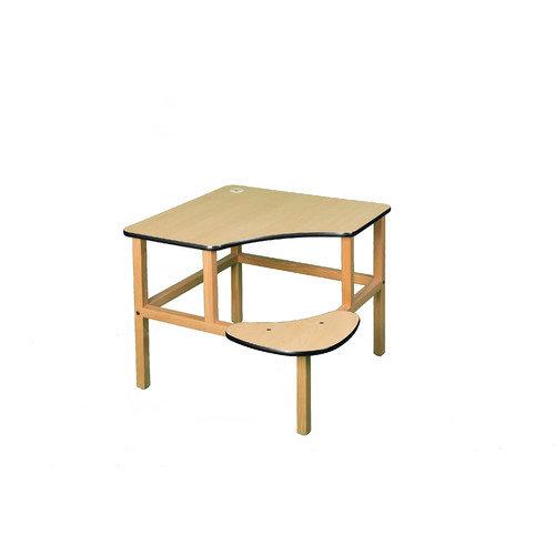 Wild Zoo Adventure Series 32'' Children's Corner Writing Desk