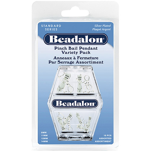 Beadalon Pendant Pinch Bail Variety Pack