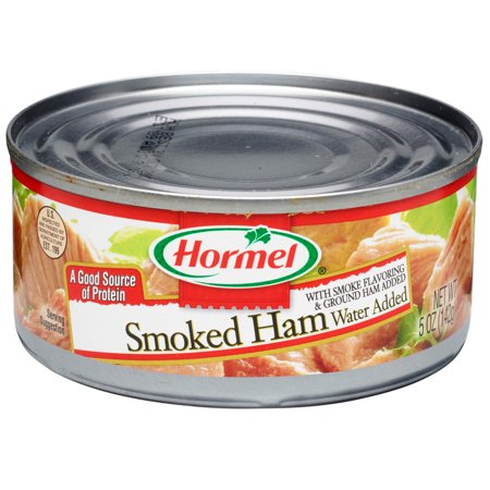 - (4 Pack) Hormel Canned Chunk Smoked Ham, 5 Ounce