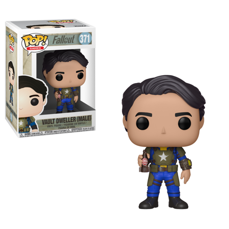 Funko Pop Games: Fallout S2 - Vault Dweller Male (Vault Dweller Cosplay)