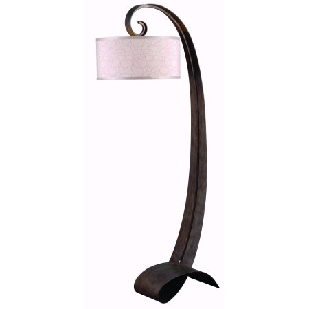 Kenroy Remy Floor Lamp  - Smoked Bronze Finish