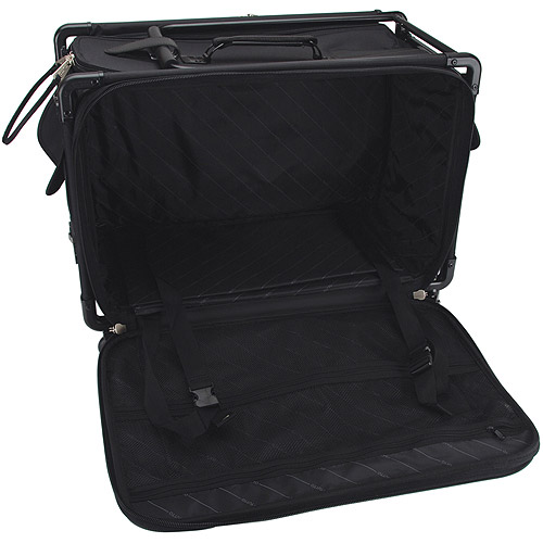 "TUTTO Machine on Wheels Case, 27"" x 16-1/4"" x 14"", Black"