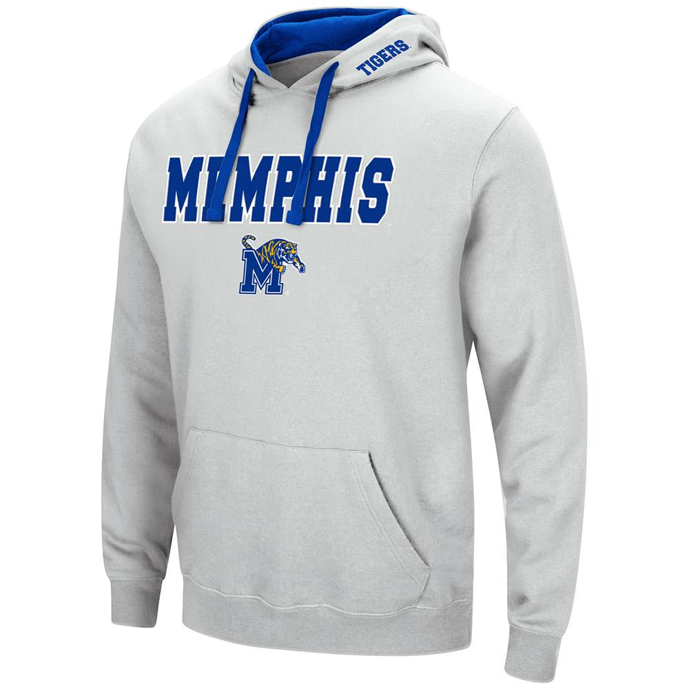 Mens Memphis Tigers Pull-over Hoodie S by Colosseum