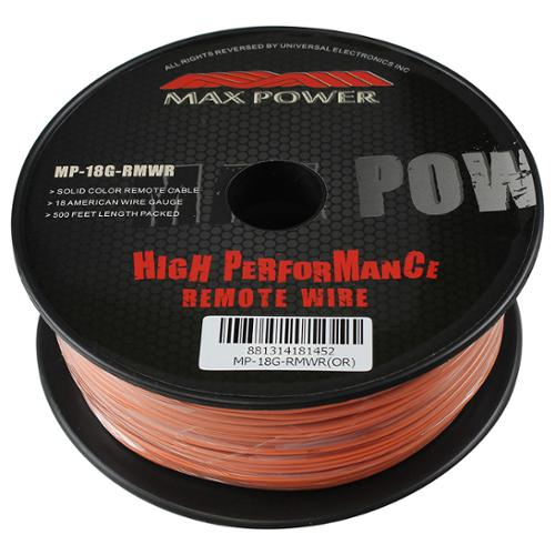 Maxpower MP18GRMWRGR Max Power Remote Wire 18ga 500ft Green