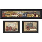 Trendy Decor 4u Kitchen By Pam Britton 3 Piece Framed Graphic Art Set
