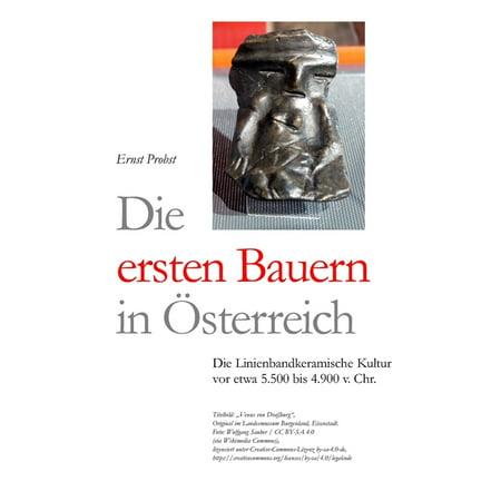 Die ersten Bauern in Österreich : Die Linienbandkeramische Kultur von etwa 5.500 bis 4.900 v. Chr. (Paperback)