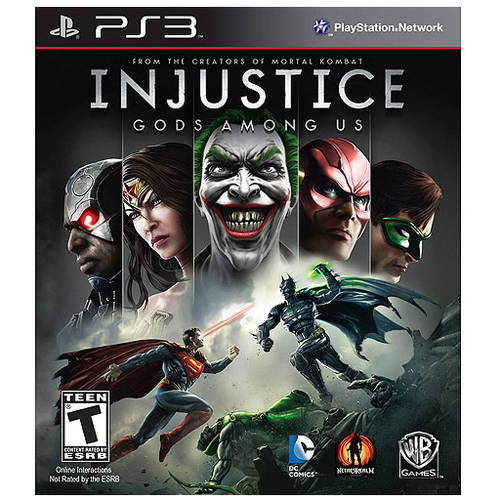 Injustice Gods Among Us (PS3) - Pre-Owned
