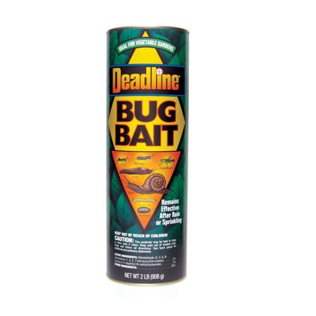 Deadline Bug Bait Canister Slug And Snail Killer  1 Lbs