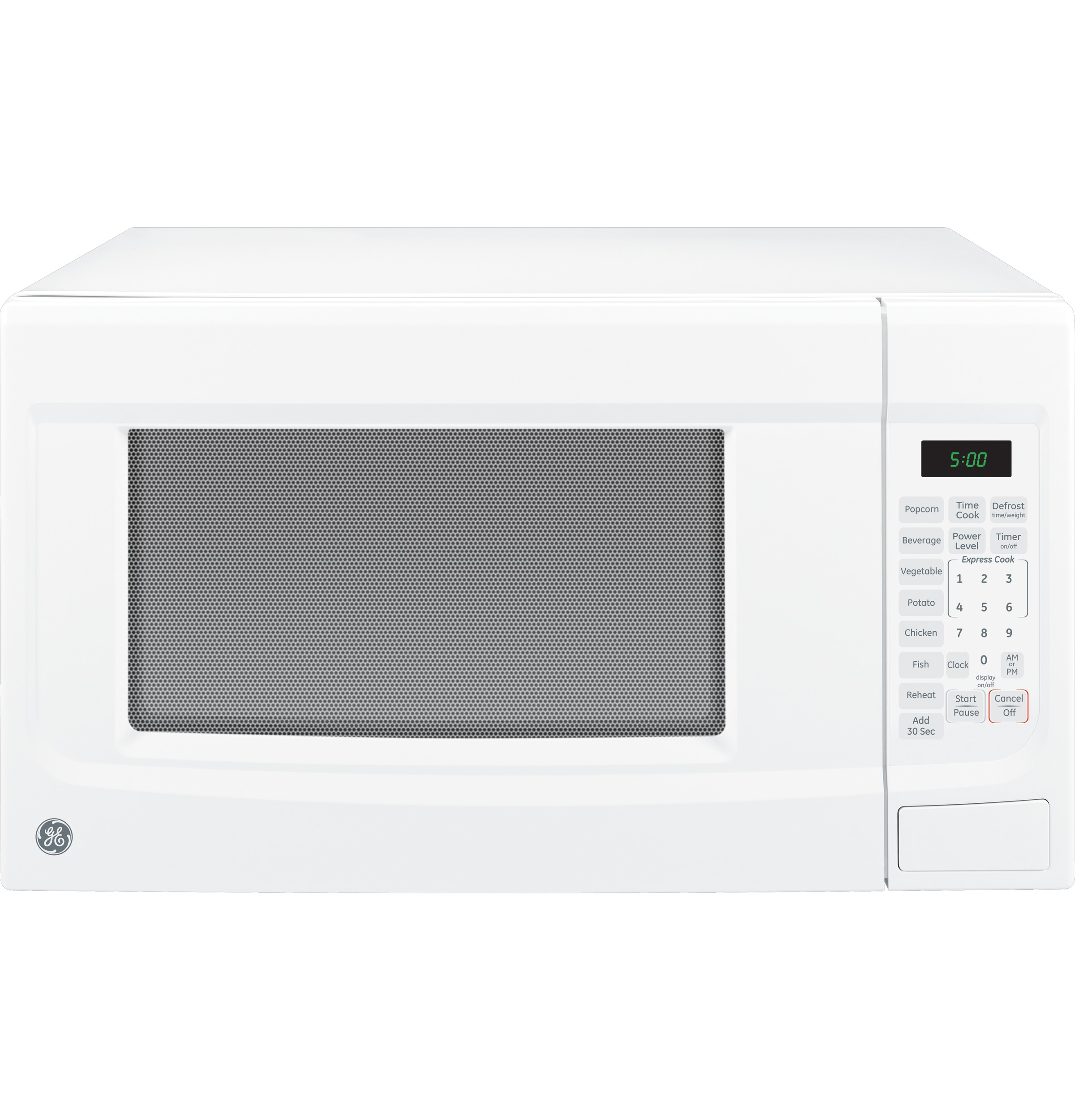 Ge 1 4 Cu Ft Countertop Microwave Oven