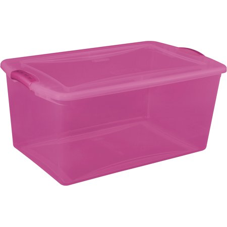 Sterilite 66 Qt Latch Box - Set Of 6, Lo - Walmart.com