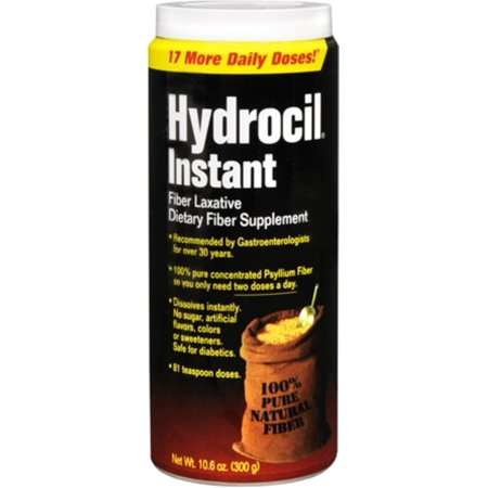 Hydrocil Instant Fiber Laxative 10.60 oz (Pack of 3)