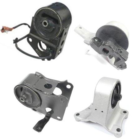 M011 7358 7347 7349EL 7348 For 02-06 Nissan 3.5L Front & Rear & Right & Trans Set 4pcs Engine Motor Mount Altima Quest 02 03 04 05 06