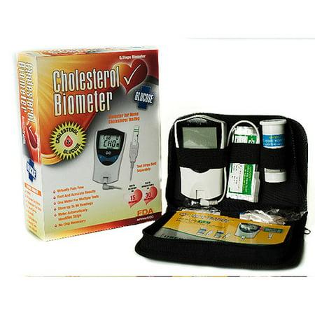 Q  Steps Cholesterol Biometer Glucose Monitoring System