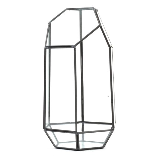 Koyal Wholesale Irregular Geometric Table Glass Terrarium