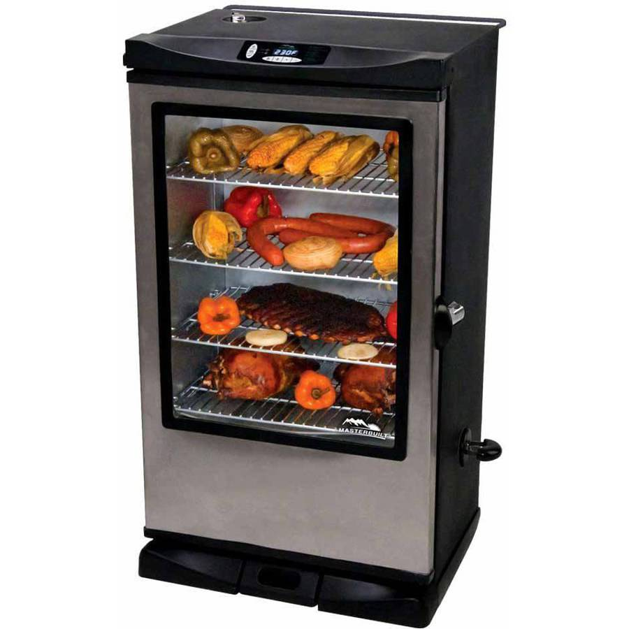 Masterbuilt Front Controller Smoker with Viewing Window and Remote, 40""