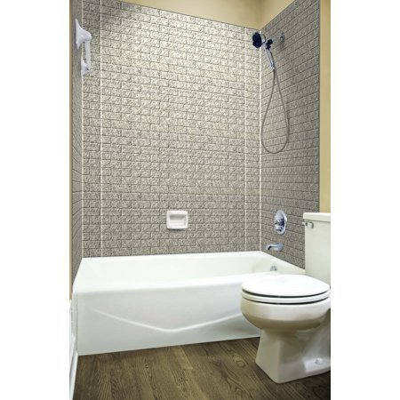 MirroFlex Tub and Shower Surround - Subway in