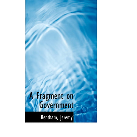 A fragment on government/Chapter 2