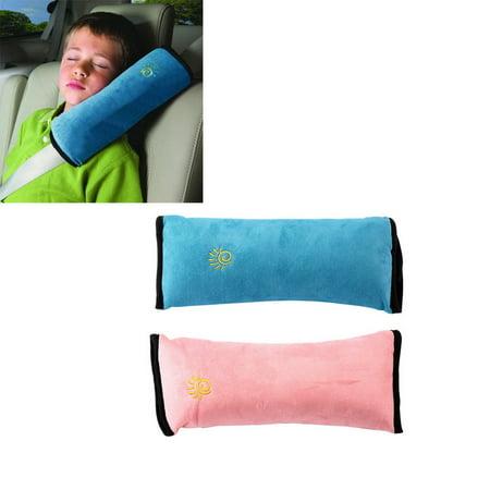 Baby Children Car Safety Seat Belt Pillow Strap Soft Shoulder Pad