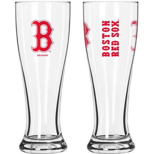 Boelter Brands MLB Boston Red Sox 2-Pack Gameday Pilsner Set