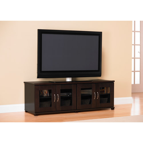 Ameriwood Tv Stand, Espresso, For Tvs Up