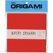 """Origami Washi Paper 5.875""""X5.875"""" 20 Sheets-Assorted Colors"""