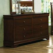 Alcott Hill Alivia 6 Drawer Double Dresser