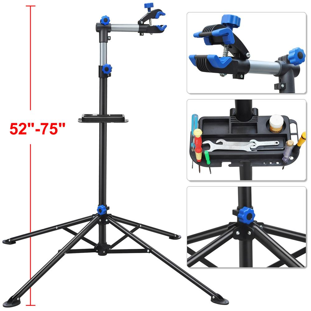 """YaHeetech Pro Bike Adjustable 52-75"""" Repair Stand w Telescopic Arm Bicycle Rack by Yaheetech"""