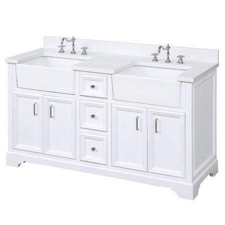 Kitchen Bath Collection Zelda 60 Double Bathroom Vanity