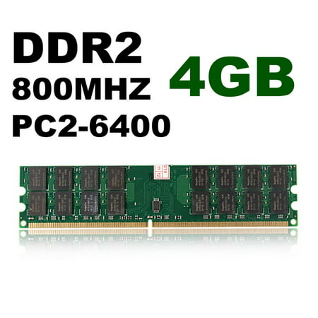 4GB Memory RAM DDR2 800Mhz PC2-6400 240 Pin Dimm 4G For CPU AMD Motherboard