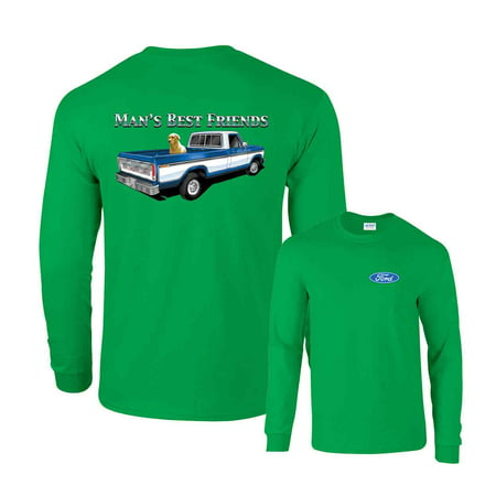 Man's Best Friend Ford Classic F150 Truck Long Sleeve