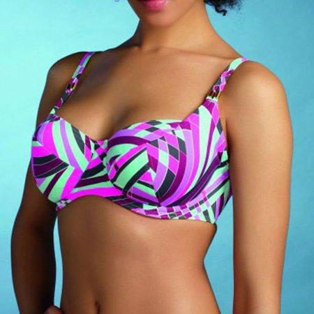 Womens/Ladies Freya Velocity Underwire Balcony Bikini Top Purple 9580 Size 30D