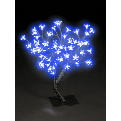 Hometime Snowtime 48 LED Light Blossom Tree