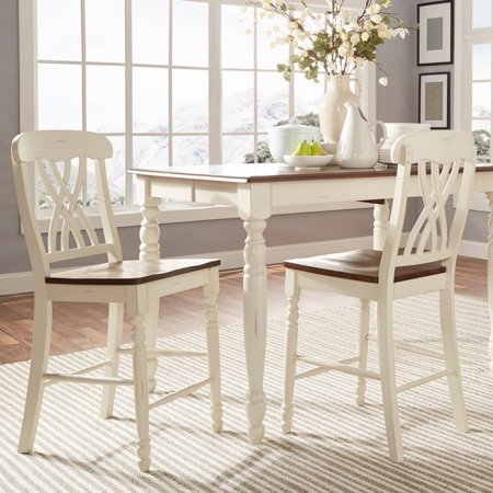 Tribecca Mackenzie Counter Height Chair Set Of 2 By Inspire Q Clic Scroll