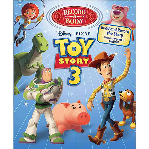 Toy Story 3 Record-a-Book
