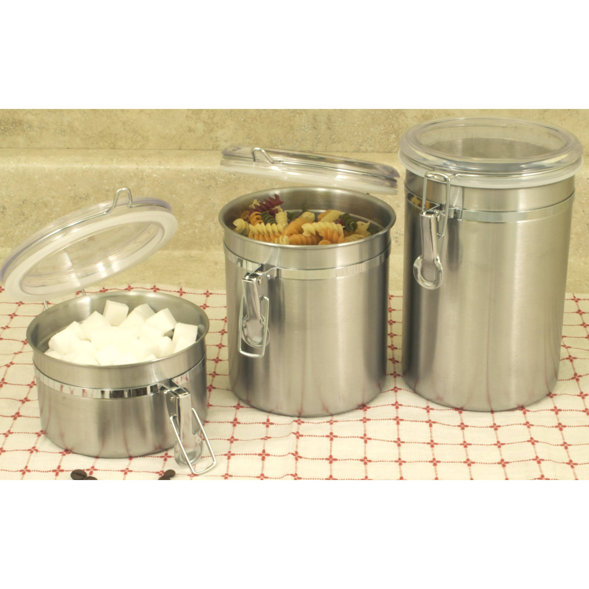 COOK PRO Stainless Steel Canister