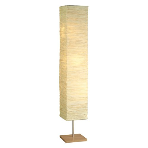 Adesso Dune Floorchiere Lamp, Natural Finish by Generic