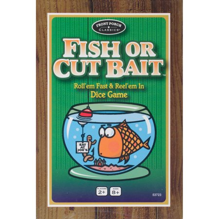 Fish Shaped Water Games (Front Porch Classics Fish Or Cut Bait Game)