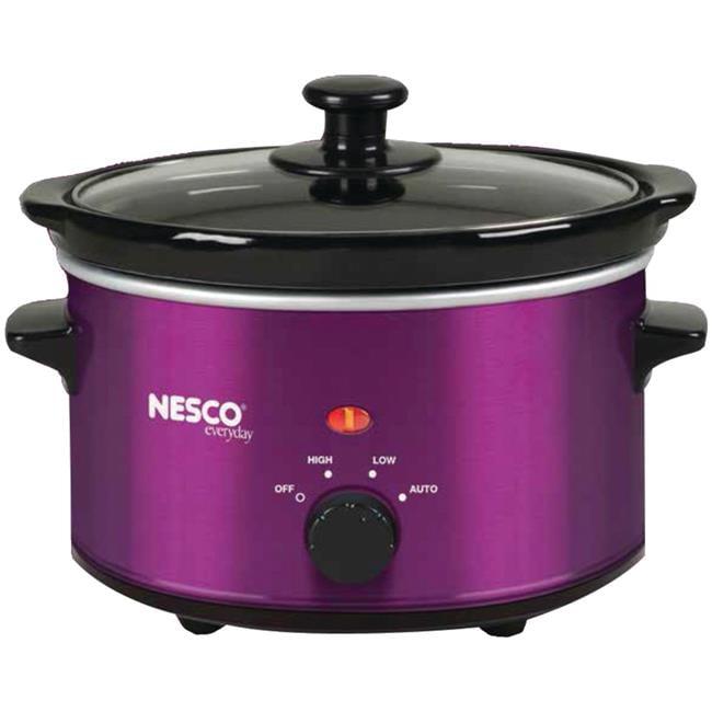 Nesco American Harvest SC-150V 1.5 qt. Slow Oval Cooker - Metallic Violet,