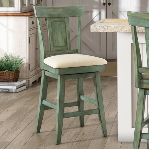 August Grove Colasanto 24 Swivel Bar Stool Walmartcom
