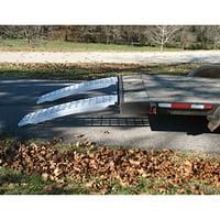 Aluminum Trailer Ramps - Mfg In The USA - 5ft L x 16in W 10,000 lb Cap. Per Pair