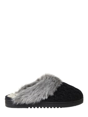 Nine West Women's Knit Closed Toe Scuff Slippers
