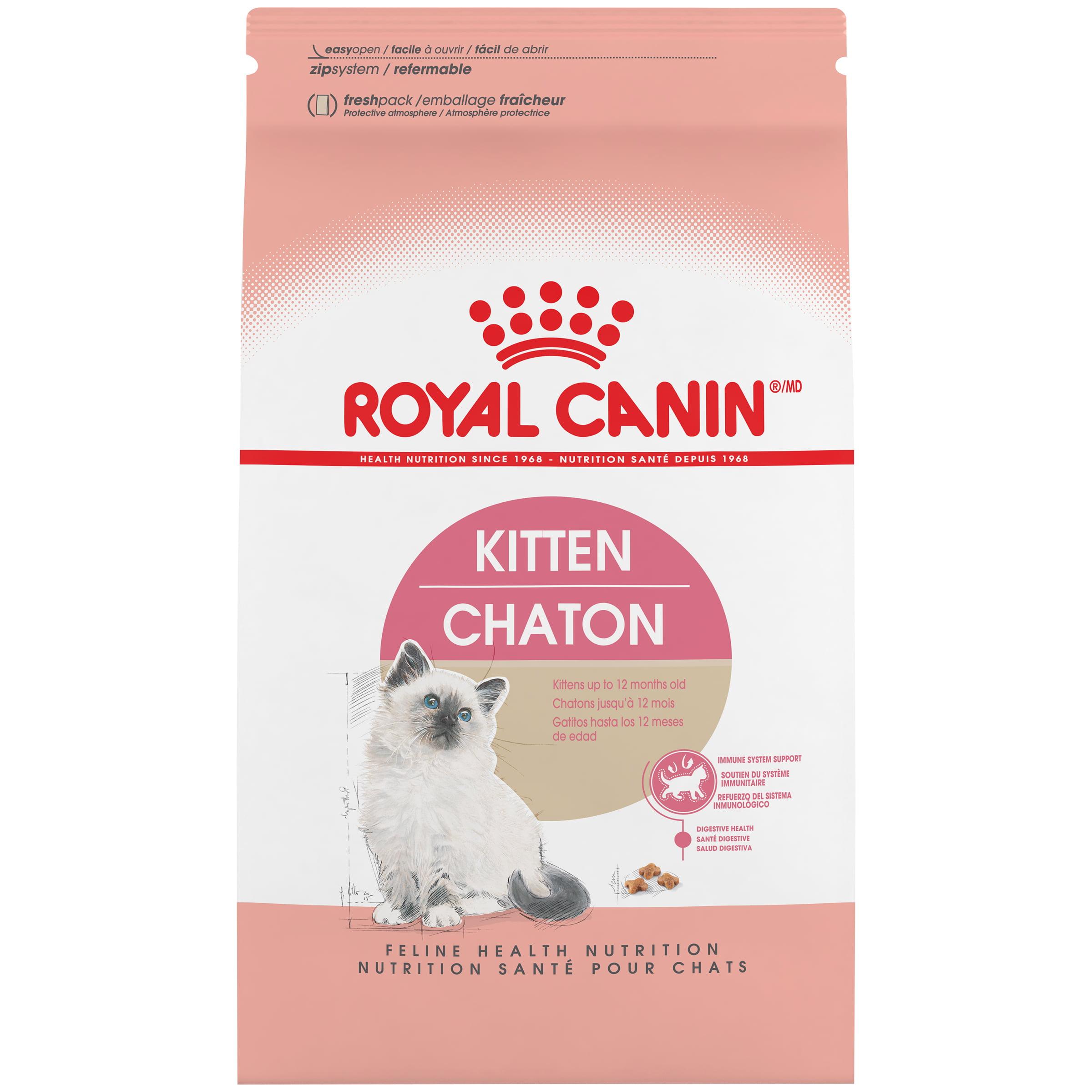 Royal Canin Kitten Dry Cat Food, 3.5 lb