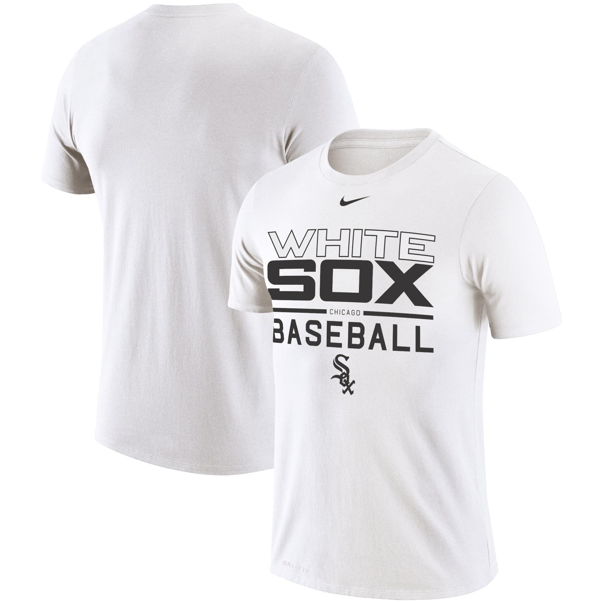 Chicago White Sox Nike Practice Performance T-Shirt - White