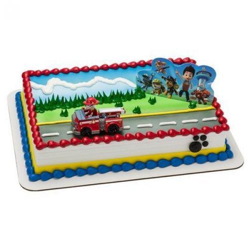 Paw Patrol Birthday Cake Kit Walmartcom