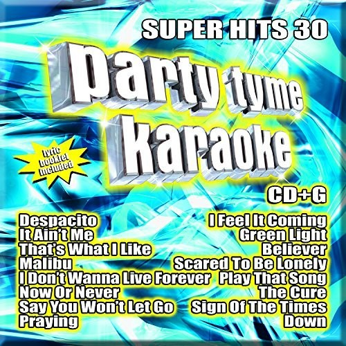 Party Tyme Karaoke: Super Hits, Vol. 30 (CD)