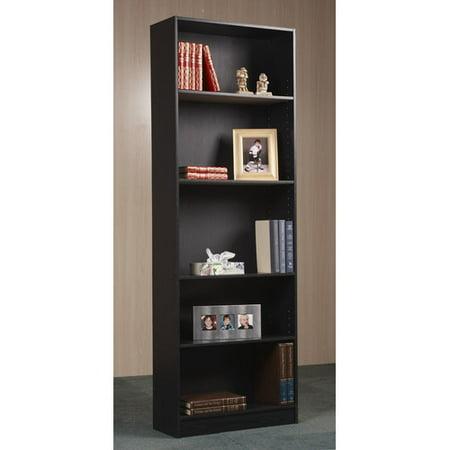 Orion 5Shelf Bookcase Multiple Finishes Walmart – Mainstays 3 Shelf Bookcase