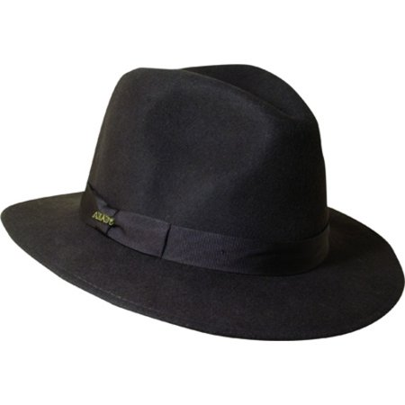 5ab513282c63f Scala - Scala Classico Men s Hyde Park Wool Felt Crushable Chocolate Safari  Hat - Walmart.com
