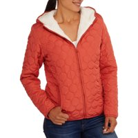 Climate Concepts Womens Hooded Quilted Jacket (Multiple Colors)