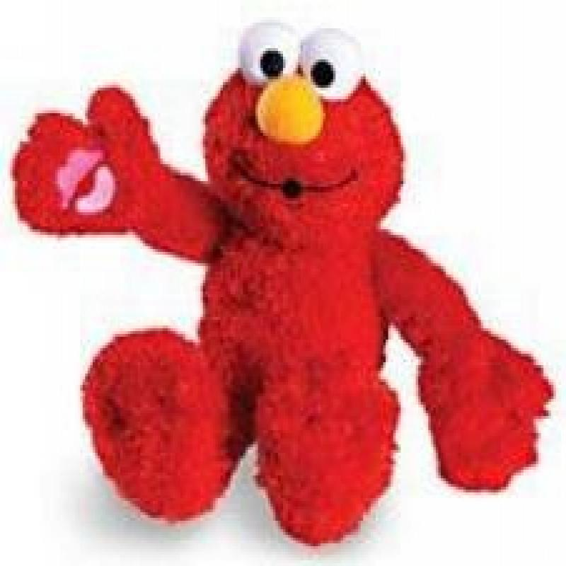 Fisher Price Sesame Street Many Kisses Elmo by